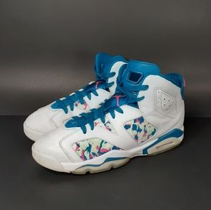 "Nike Air Jordan VI 6 Retro ""Green Abyss"" 8.5"